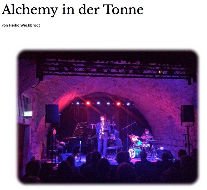 Alchemy in der Tonne